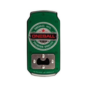 ONE BALL JAY TRACTION BOTTLE OPENER GREEN