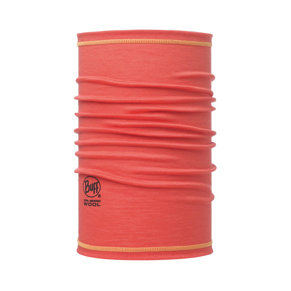 BUFF MERINO WOOL 3/4 CORAL