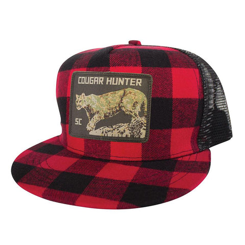 SPACECRAFT COUGAR HUNTER TRUCKER PLAID