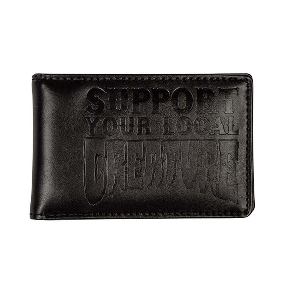 CREATURE SUPPORT BI FOLD WALLET