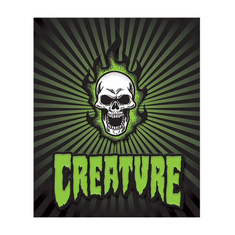 CREATURE BONEHEAD PIN SET