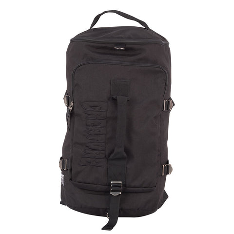 CREATURE HESH TOUR DUFFLE BAG BACKPACK BLACK