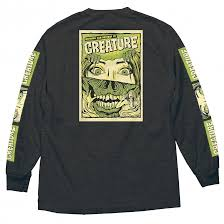 CREATURE HORROR FEATURE L/S TEE