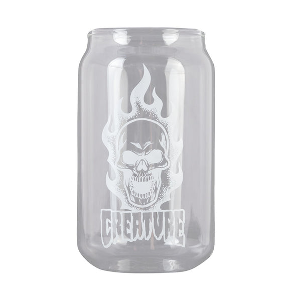 CREATURE BONEHEAD BEER CAN PINT