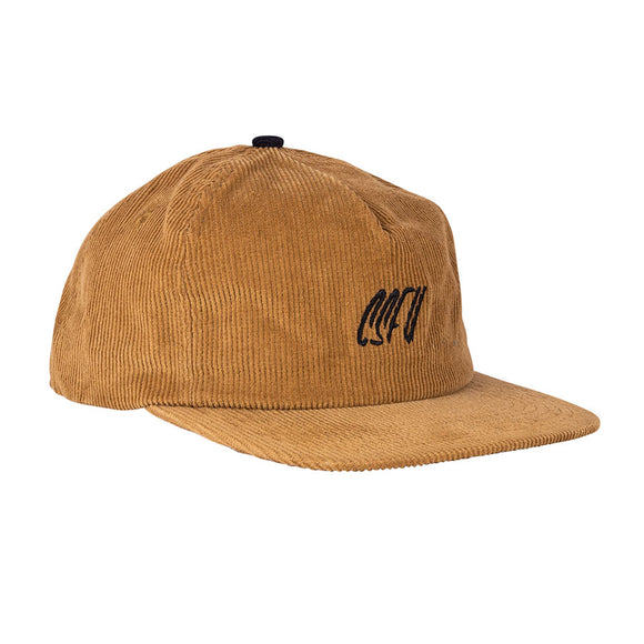 CREATURE CSFU SCRIPT STRAPBACK HAT BROWN