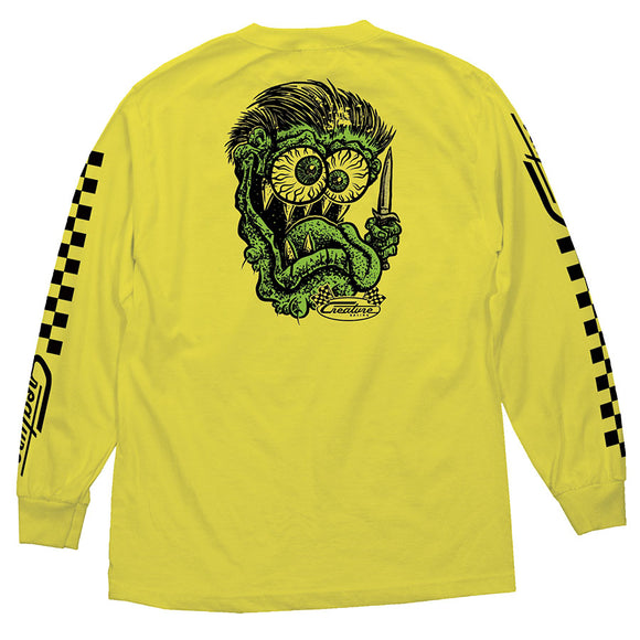 CREATURE GREASE MONKEY L/S YELLOW XL