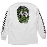CREATURE GREASE MONKEY L/S WHITE