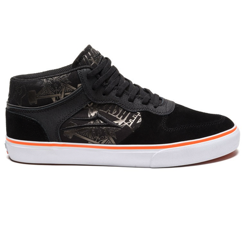 LAKAI CARROLL MID THRASHER BLACK/ORANGE
