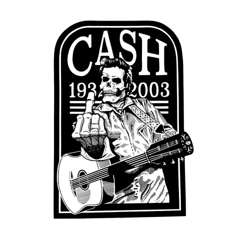 AARON STROMBERG ART PRINT JOHNNY CASH