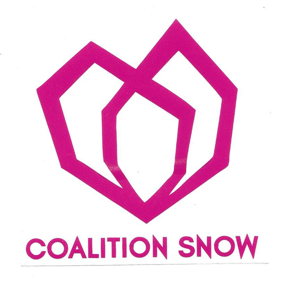 COALITION SNOW DECAL