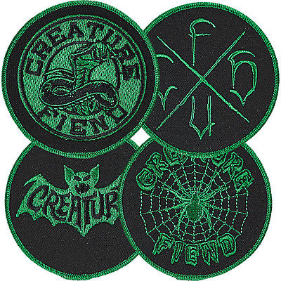CREATURE FIEND CLUB BAT PATCH