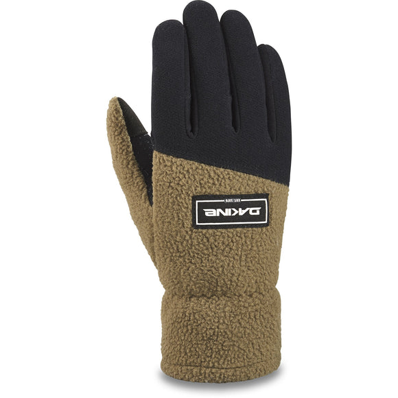 DAKINE TRANSIT FLEECE GLOVE DARK OLIVE