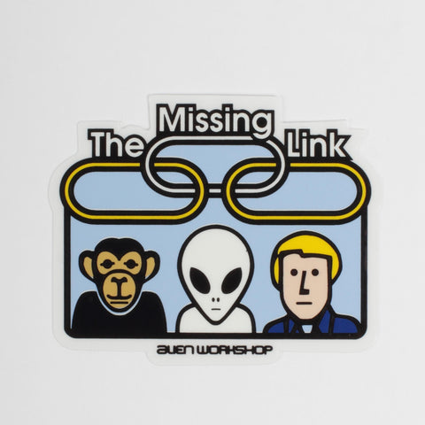 ALIEN WORKSHOP MISSING LINK STICKER