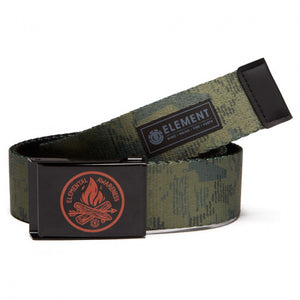 ELEMENT BEYOND WEB BELT CAMP CAMO GREEN