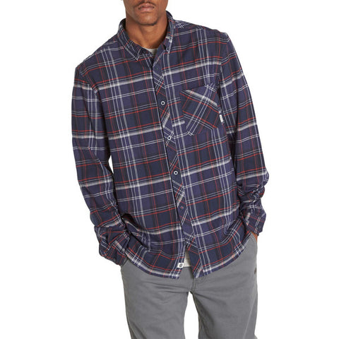 ELEMENT BUFFALO MIDNIGHT BLUE FLANNEL
