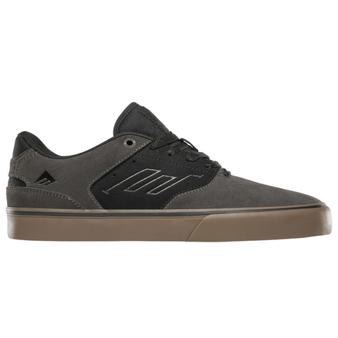 EMERICA THE REYNOLDS LOW VULC DARK GREY/BLACK/GUM