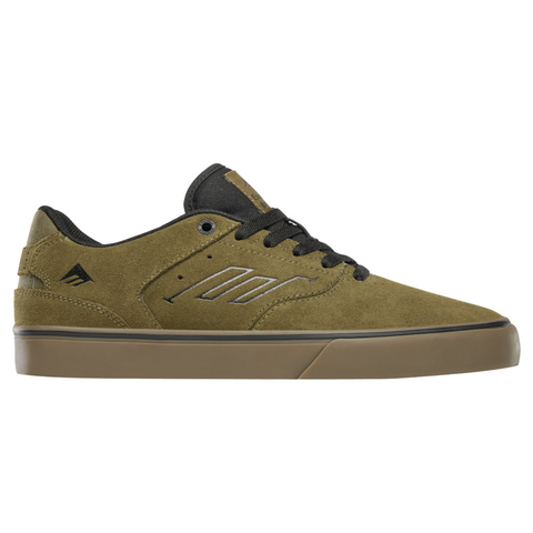 EMERICA THE REYNOLDS LOW VULC OLIVE/BLACK