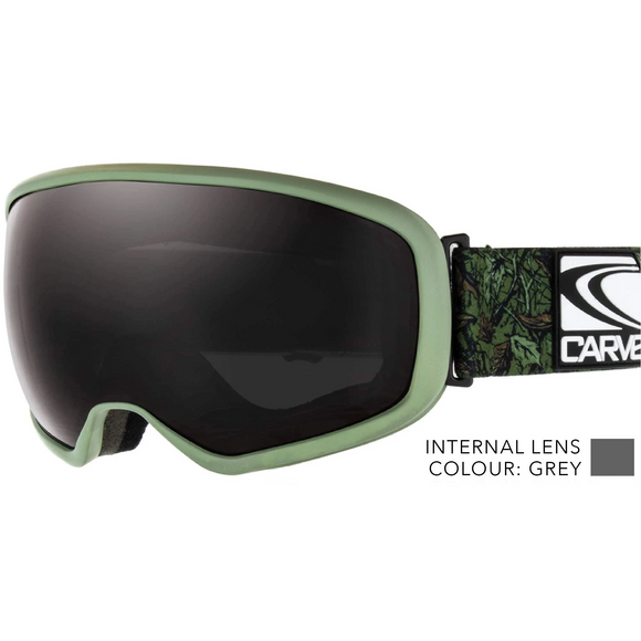 CARVE FIRST TRACKS ARMY GREEN BLACK
