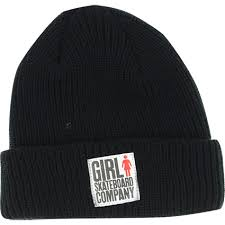 GIRL BIG GIRL FOLD BEANIE