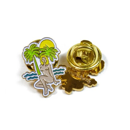 GOOD WORTH & CO TROPICS LAPEL PIN
