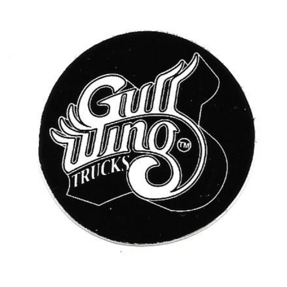 GULLWING CIRCLE STICKER
