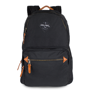 [HOWL VACATION BACKPACK BLACK] HOWL VACATION BACKPACK BLACK
