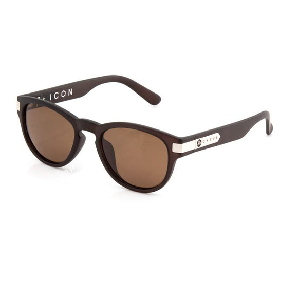CARVE ICON BROWN TRANSLUCENT POLARIZED
