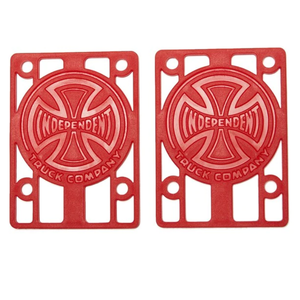 "INDEPENDENT GENUINE PARTS RISERS 1/8"" 2PK"