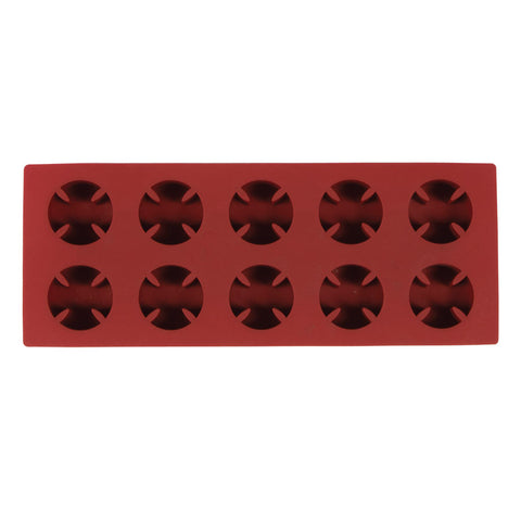 INDEPENDENT CROSS MOLDED ICE CUBE TRAY