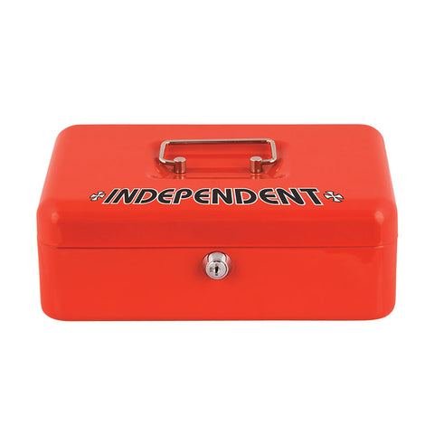 INDEPENDENT VAULT LOCK BOX RED