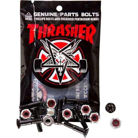 INDEPENDENT THRASHER BOLTS 1""