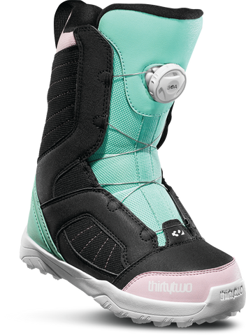 32 KIDS BOA BLACK/PINK/GREEN