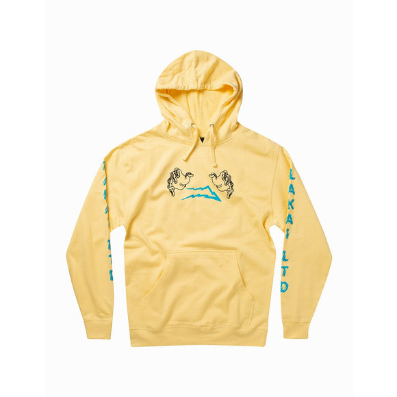 LAKAI LIGHTNING HOOD LIGHT YELLOW