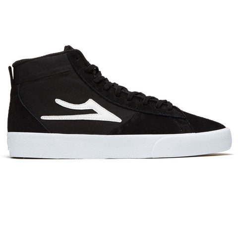LAKAI NEWPORT HIGH BLACK SUEDE
