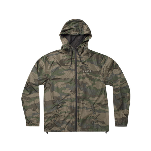 LAKAI STACKED WINDBREAKER FOREST CAMO