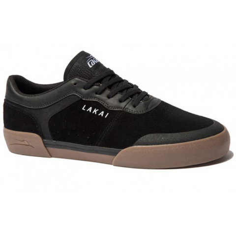 LAKAI STAPLE BLACK/GUM SUEDE