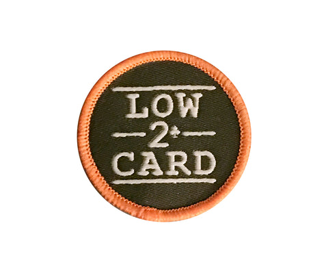 LOWCARD BOYSCOUT PATCH