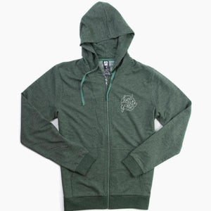 LANDYACHTZ 97' HOODIE HEATHER GREEN