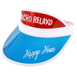 HAPPY HOUR MUCHO RELAXO VISOR RED/WHITE/BLUE