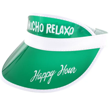 HAPPY HOUR MUCHO RELAXO VISOR GREEN