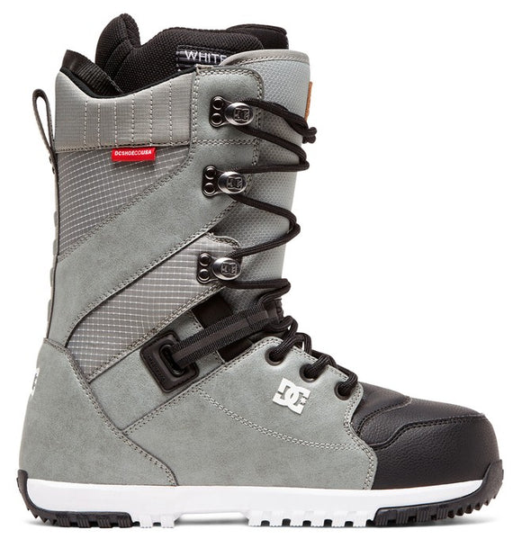 DC MUTINY LACE-UP SNOWBOARD BOOTS GREY