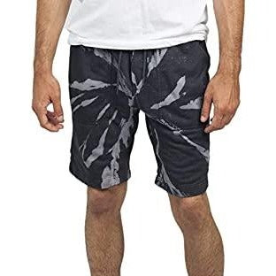 NEFF ACID SWEAT SHORT BLACK/TIE DYE