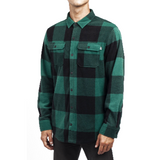 NEFF PEAK BUTTON UP FOREST