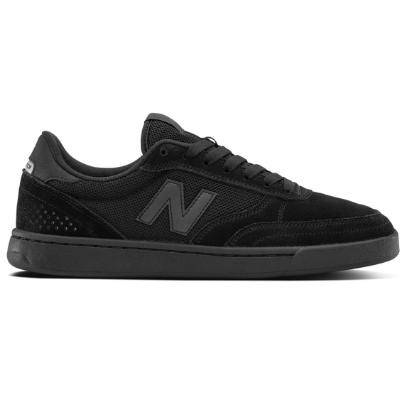 NEW BALANCE NUMERIC 440 BLACK WITH WHITE