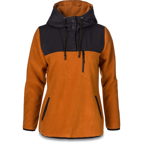DAKINE WOMEN'S PARKER NOVELTY FLEECE GINGER