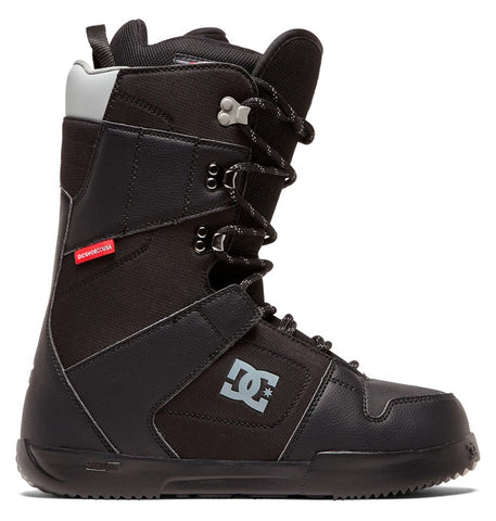 DC PHASE LACE-UP SNOWBOARD BOOTS BLACK