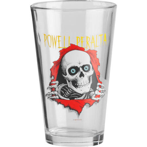 POWELL RIPPER PINT GLASS