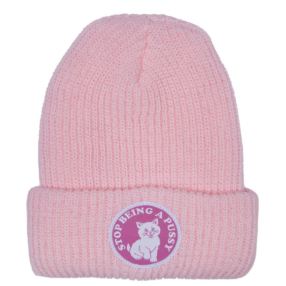 RIPNDIP STOP BEING A PUSSY RIBBED BEANIE