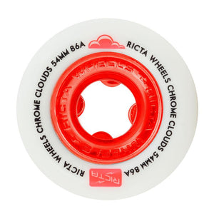 RICTA CHROME CLOUDS 54MM 86A RED