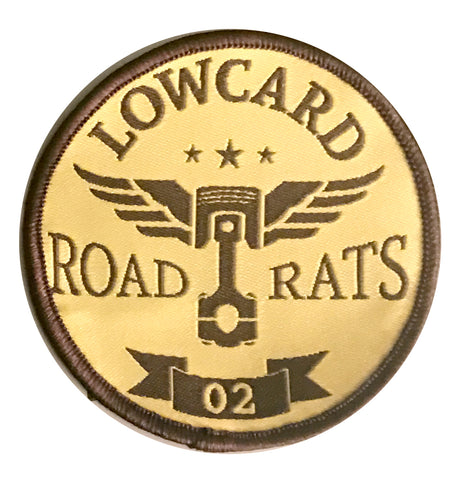 LOWCARD ROAD RATS PATCH